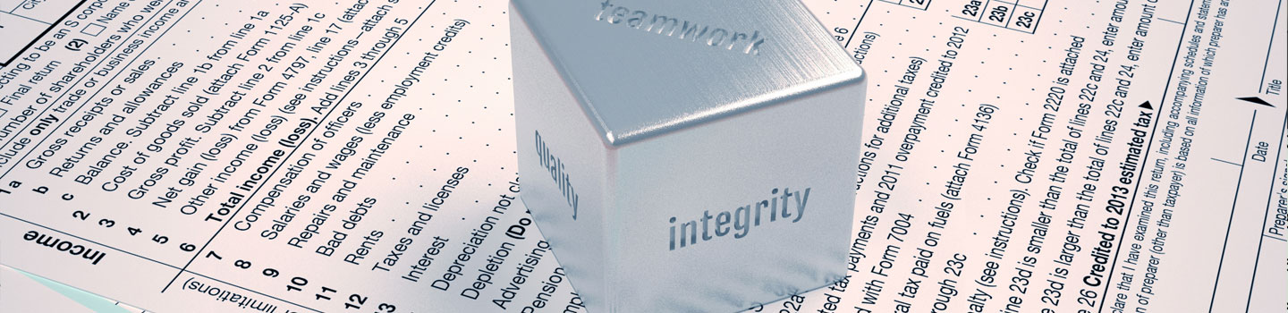 Integrity is at the core of our practice